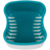 Denture-Bath-With-Basket-European-Style-Attractive-Durable-Design-Color-Teal-3